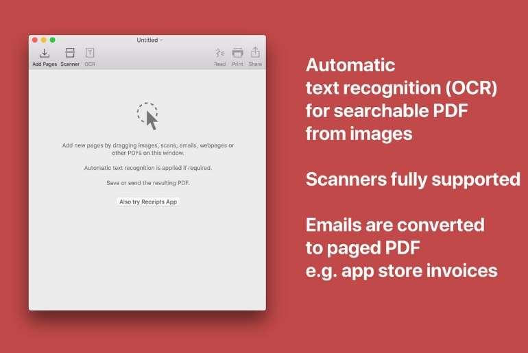 outil reconnaissance texte et convertir en pdf