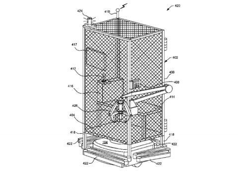 Amazon cage brevet