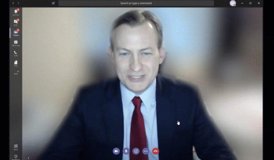 Microsoft Teams : il est possible de flouter votre arrière-plan lors d'appels vidéo