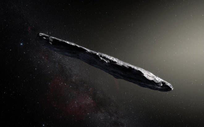 découverte - astéroïde - oumuamua