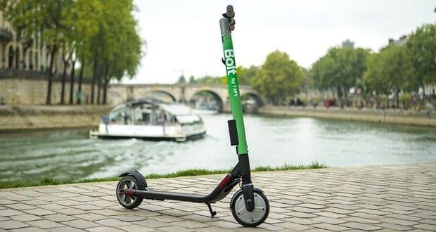 Taxify trottinettes électriques