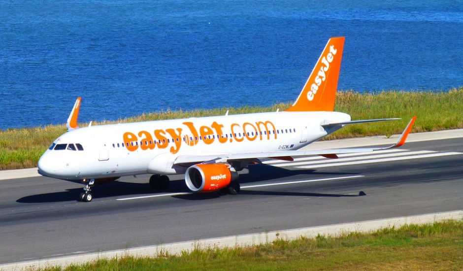 Décollage d'un avion EasyJet