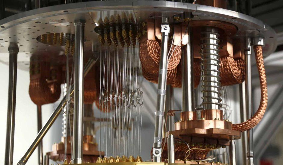 Aperçu d'un ordinateur quantique.