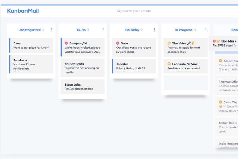 un logiciel pour organiser ses mails