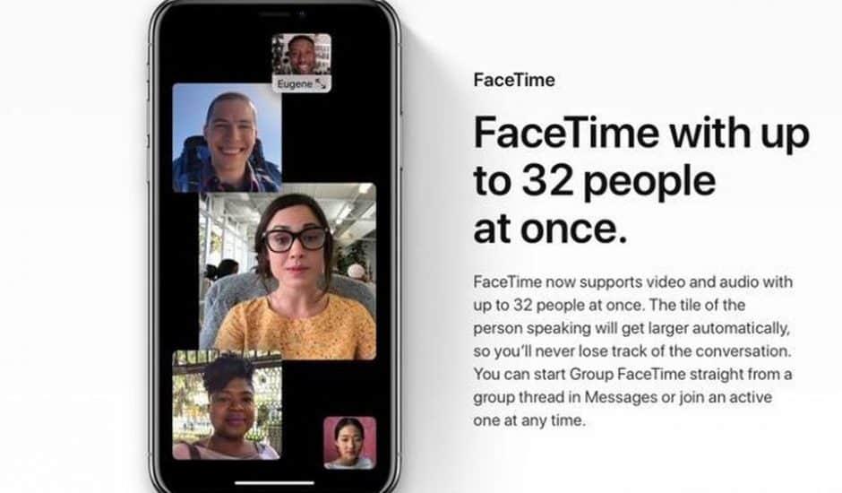 iOS 12.1 sort aujourd'hui avec la possibilité de passer des appels de groupe sur FaceTime