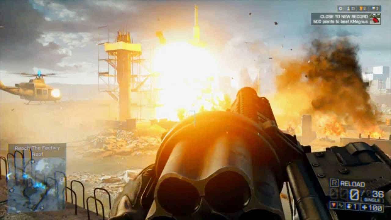 explosion battlefield 4