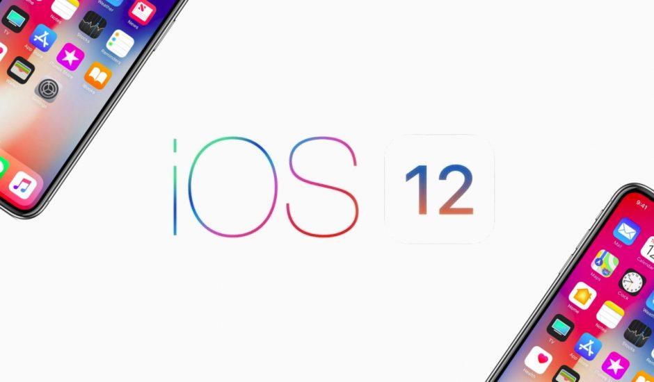 La mise à jour iOS12 séduit plus d'utilisateurs Apple qu'iOS11