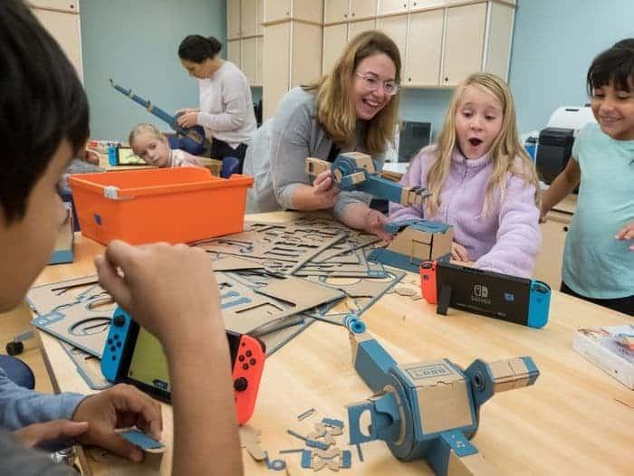 Les produits Nintendo Switch et Nintendo Labo s'invitent dans les écoles aux États-Unis