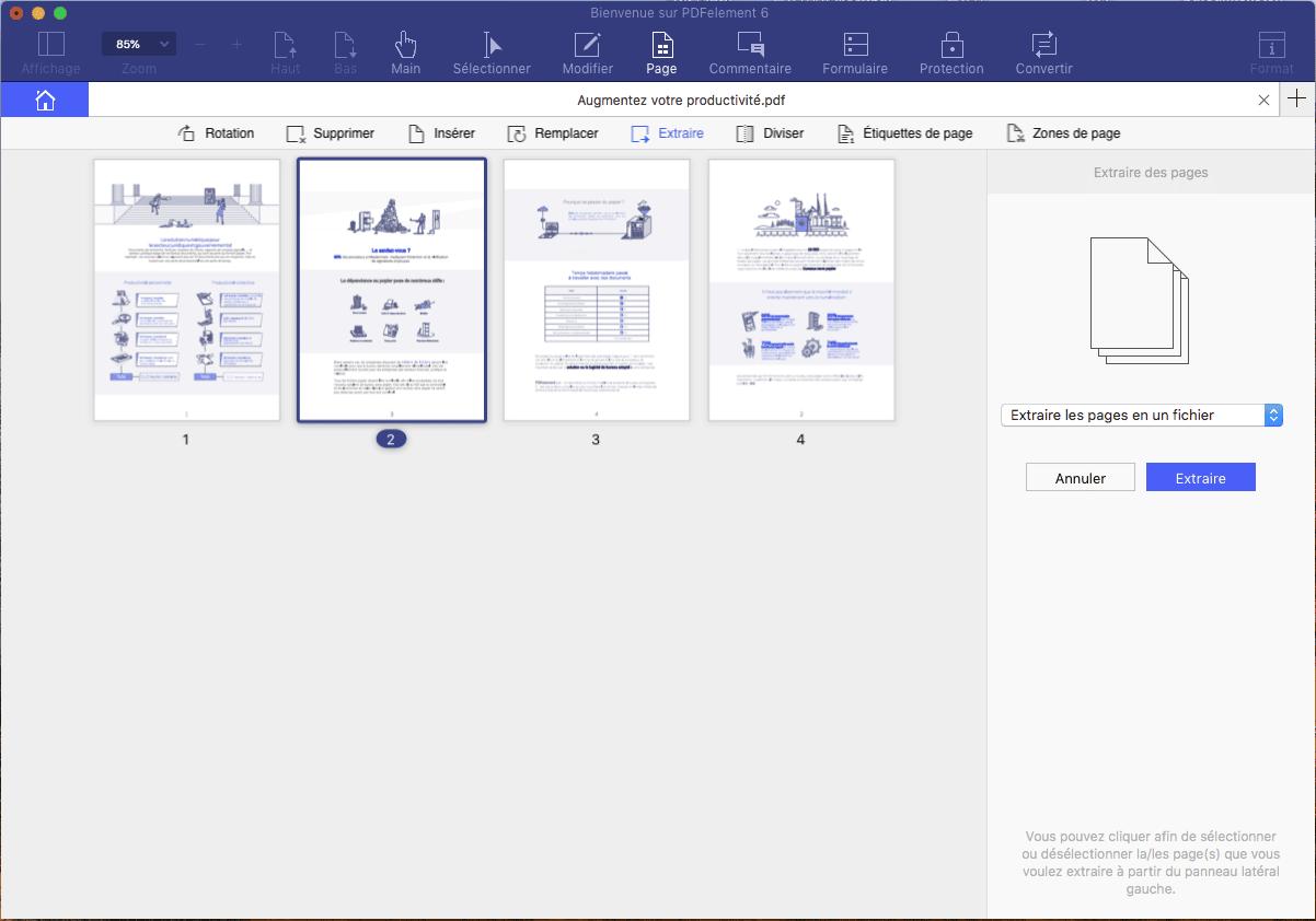 organiser son pdf