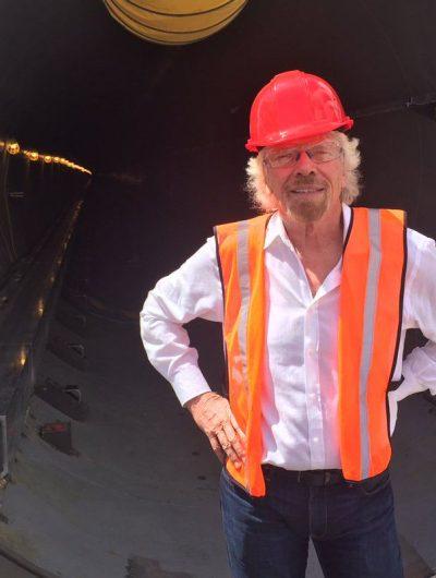 Branson quitte son poste de président chez Hyperloop One.