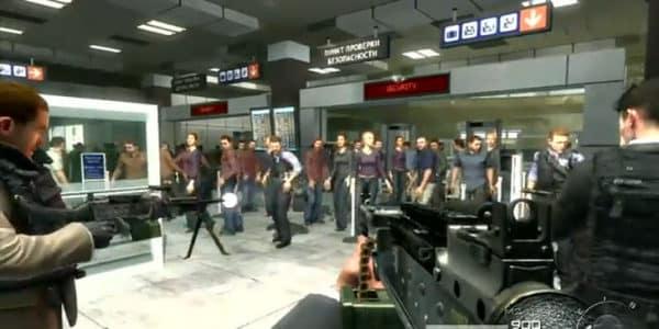 Aéroport COD 2 violence jeux vidéo