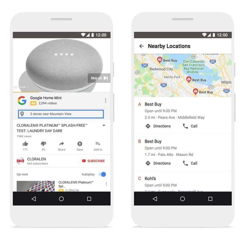 Google commerce local