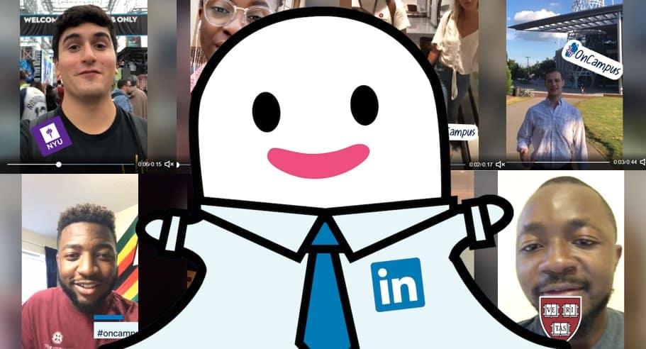 LinkedIn s'inspire des stories Snapchat