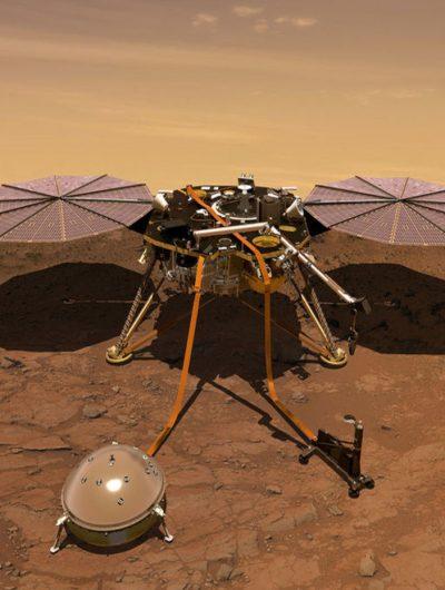 La sonde InSight va atterrir sur Mars. Suivez tout cela en direct !