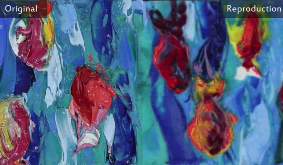 RePaint associe Impression 3D et intelligence artificielle pour reproduire des peintures
