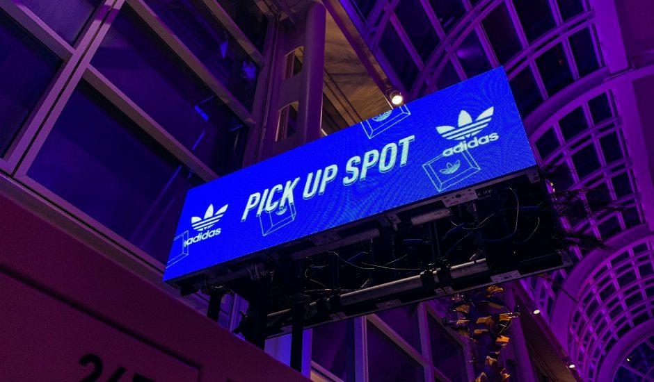 Adidas fait appel à la réalité augmentée pour vendre des baskets en édition limitée