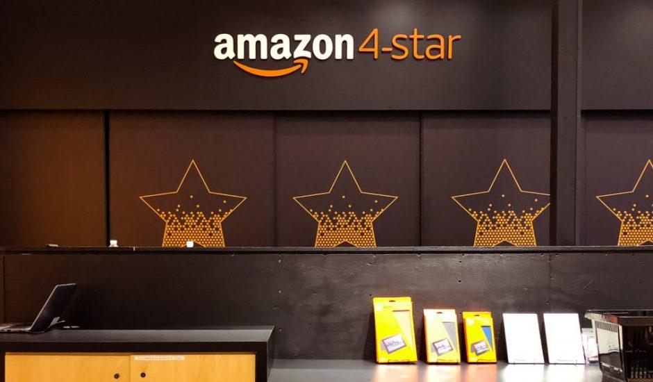 Amazon ouvre son second magasin dédié aux produits 4 étoiles et plus dans le Colorado