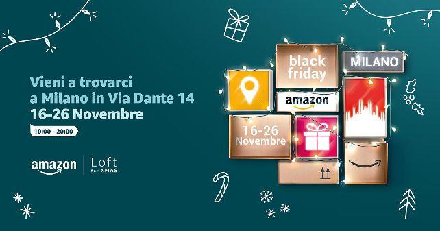 À l'occasion du Black Friday, Amazon ouvre des pop-up stores dans les capitales européennes, dont un à Paris
