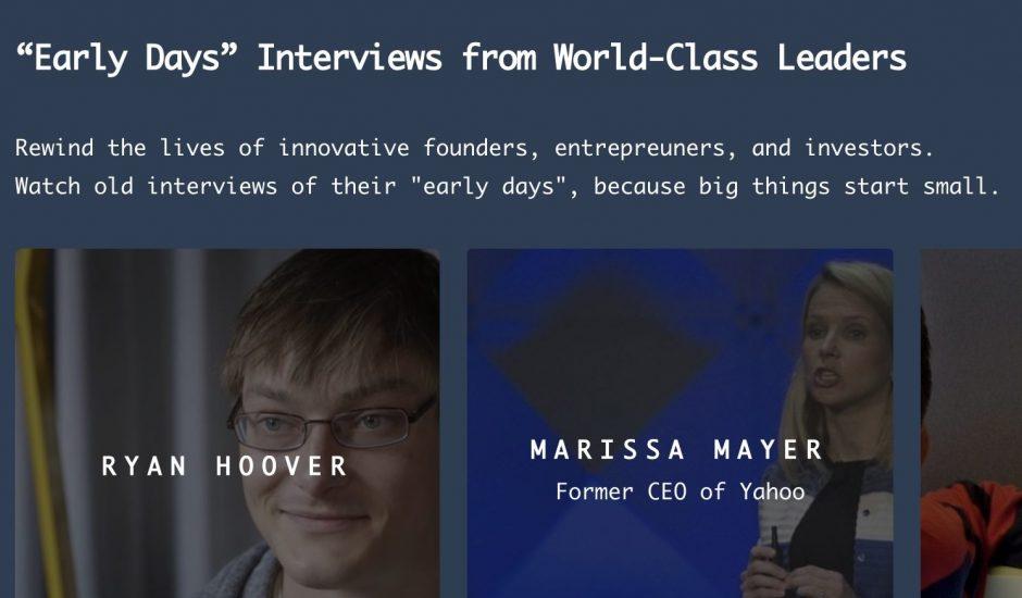 Founder Rewind : un site pour (re)voir toutes les interviews des entrepreneurs du monde entier