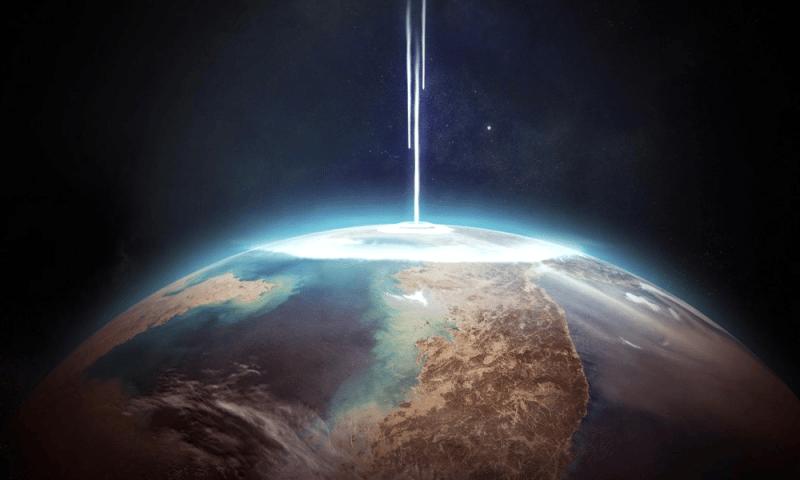 Les aliens pourraient détecter la Terre grâce à un puissant laser.