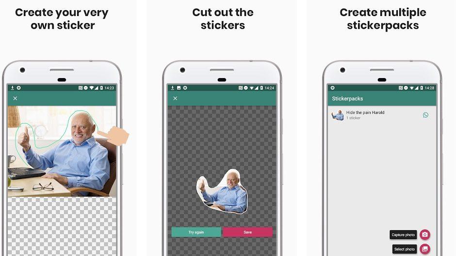 Sticker Studio : transformez vos photos en stickers sur WhatsApp