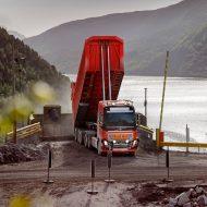 Premier camion autonome en Norvège lancé par Volvo.