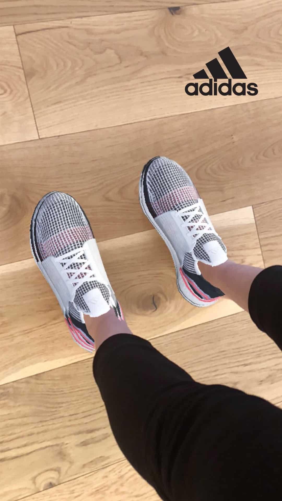 Pour la sortie de l'Ultraboost 19, Adidas s'associe avec Snapchat pour un essayage virtuel en avant-première !