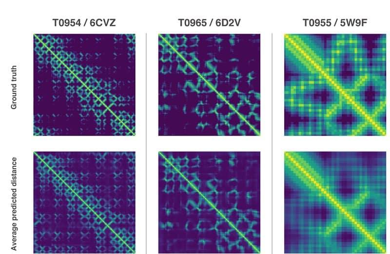 AlphaFold travaux intelligence artificielle structure protéines