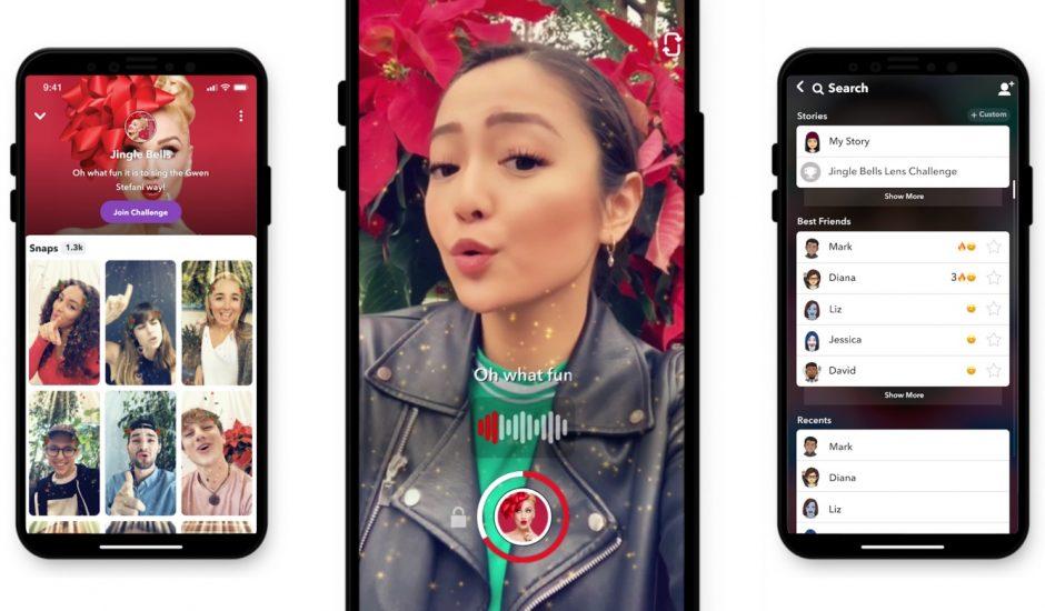Snapchat vient de dévoiler une fonctionnalité similaire à la populaire application TikTok