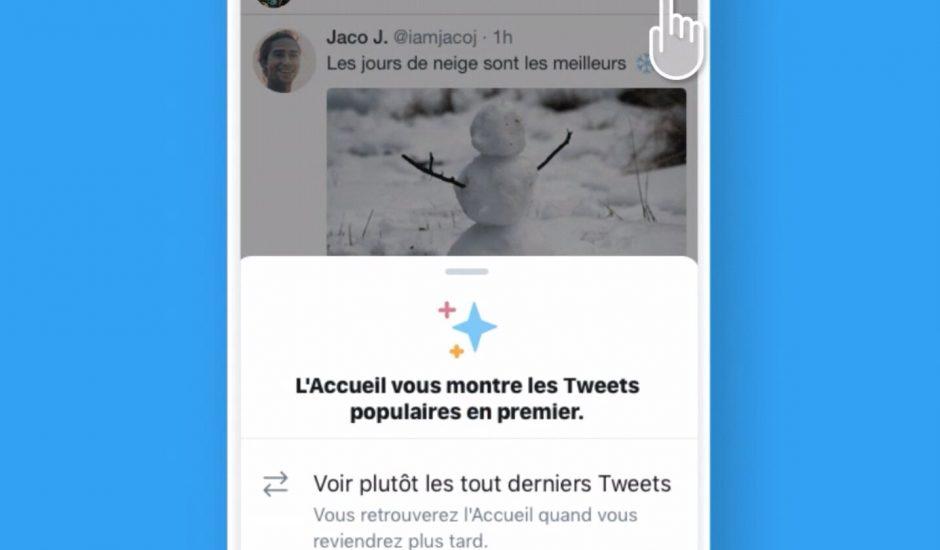 Twitter permet d'afficher les Tweets les plus récents plus facilement