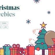 Une bibliothèque de ressources designs pour Noël