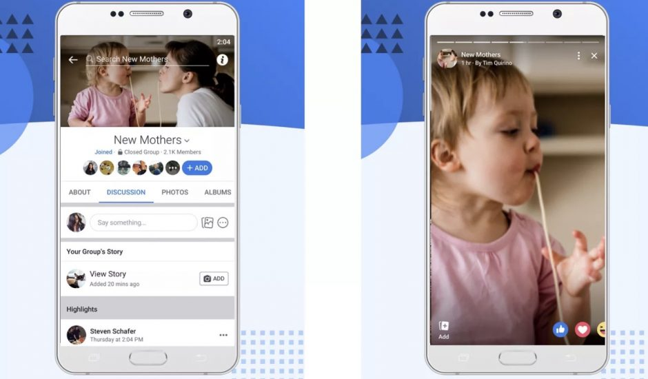 Facebook lance les stories de groupe à l'échelle mondiale