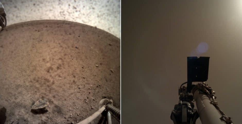 InSight s'installe sur sin terrain de jeu Martien.