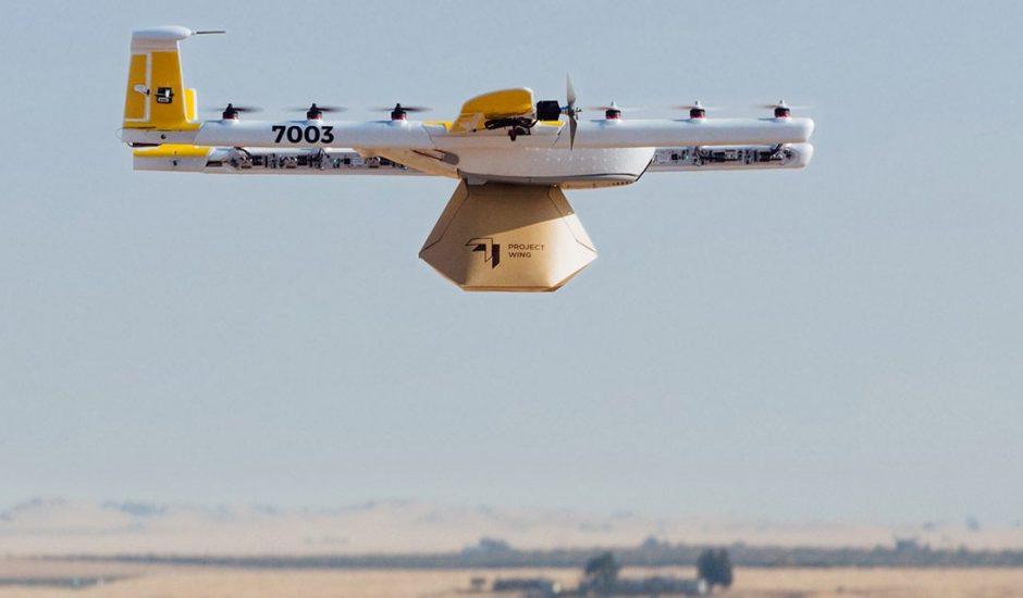 Alphabet doit rendre ses drones moins bruyants