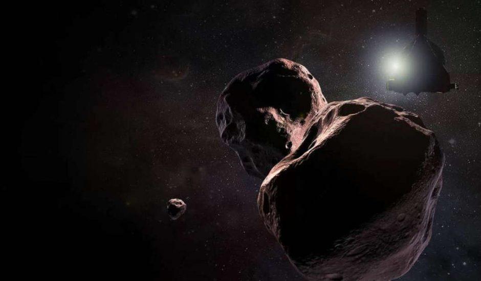 Dessin Ultima Thule rencontre New Horizons