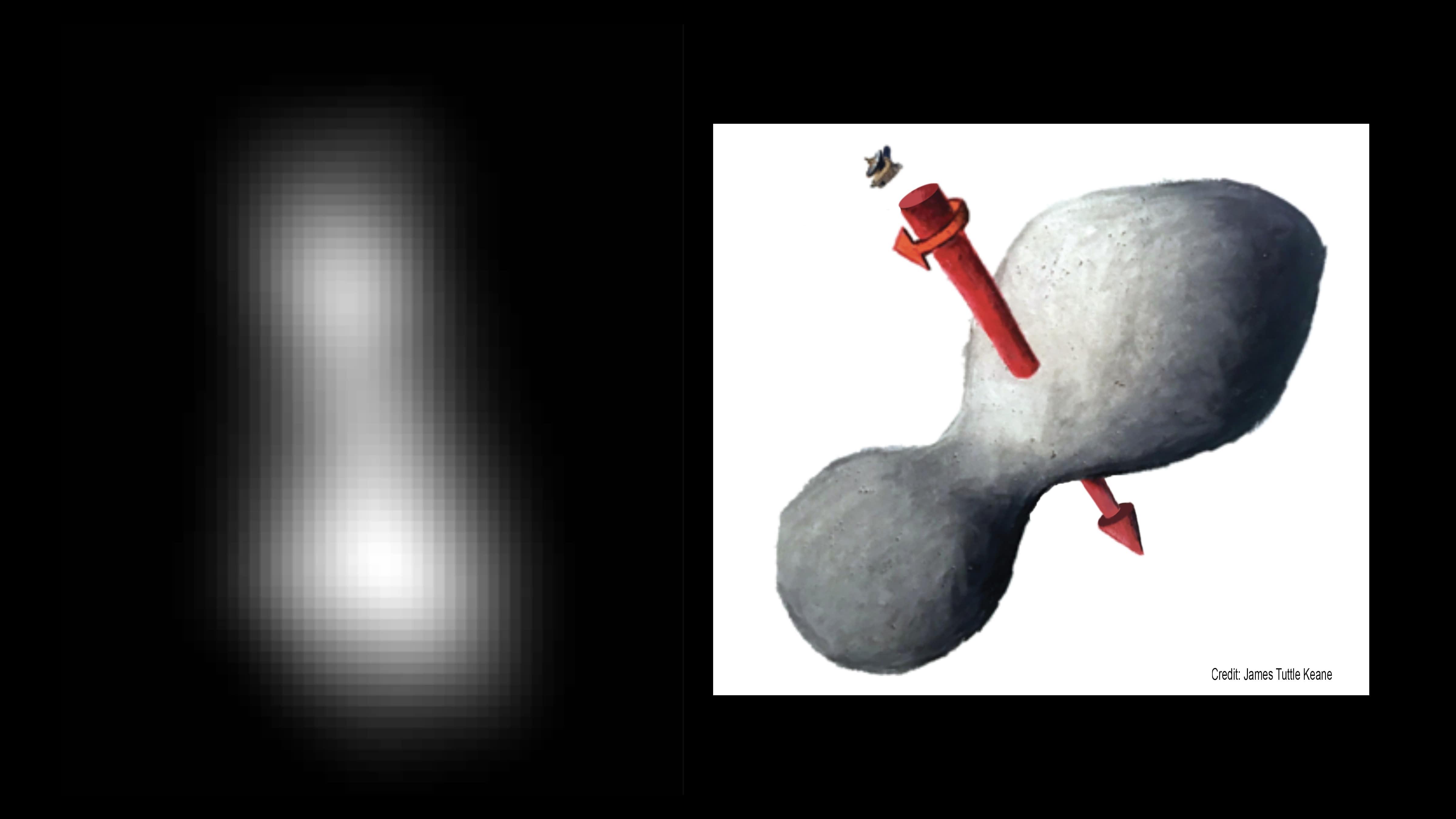 Ultima Thule, objet inédit découvert par la NASA