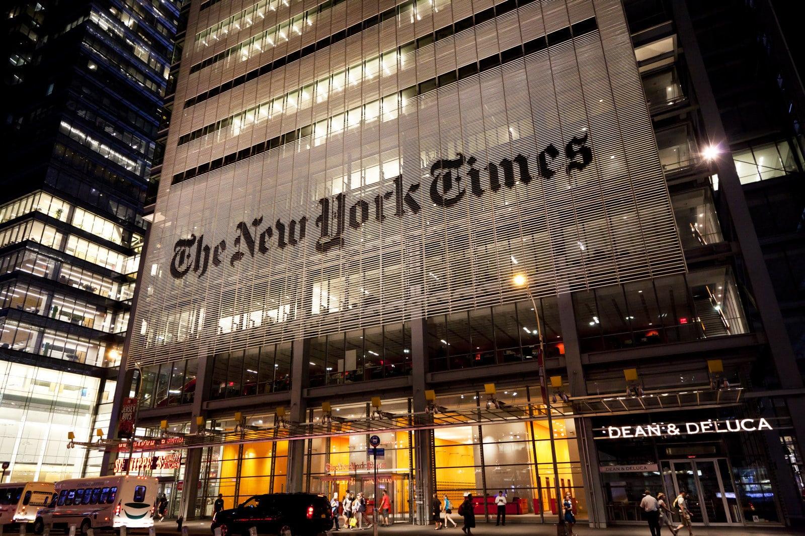 Le New York Times édite aussi le new york times magazine