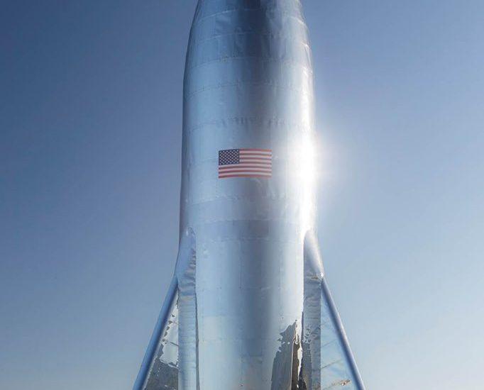 SpaceX révèle l'aspect du Starship au travers d'un tweet d'Elon Musk