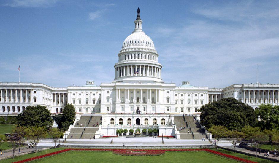 Le capitole aux États-Unis situé à Washington