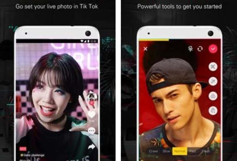 Afin de correspondre aux besoins des marchés émergents, Tik Tok a lancé deux versions Lite de son application