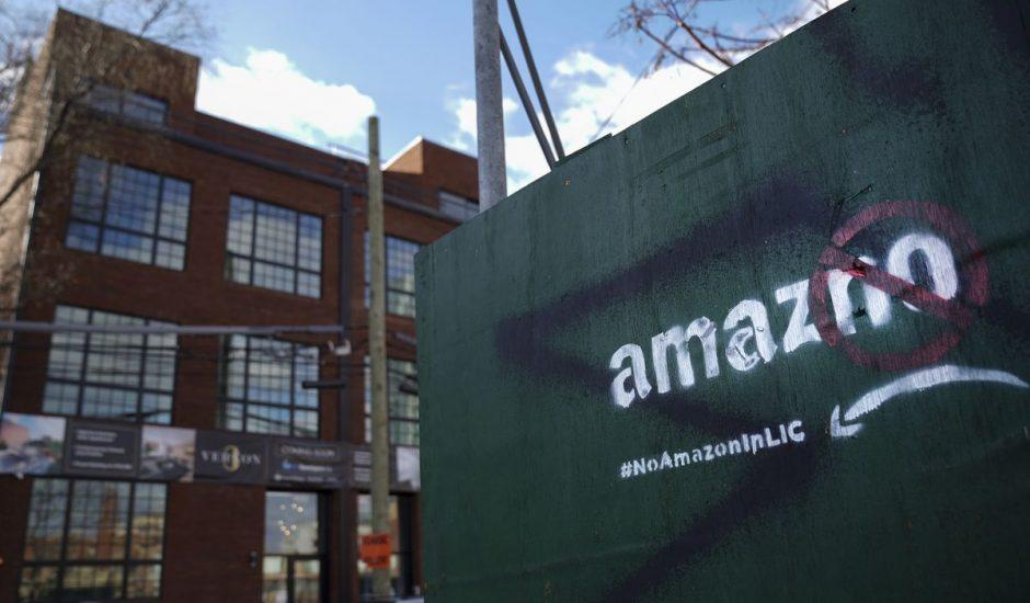 Amazon abandonne son projet de siège social à New York.