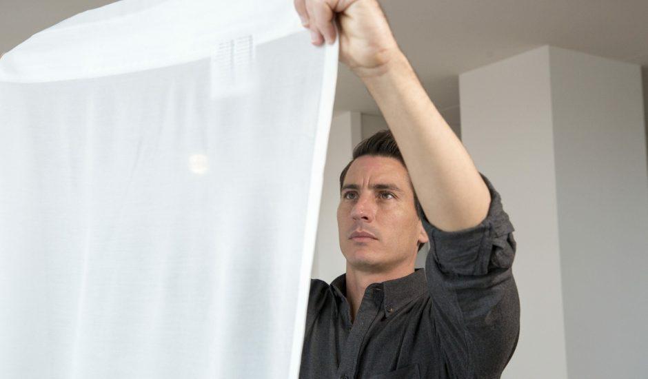 Gunrid, le rideau purificateur d'air d'Ikea