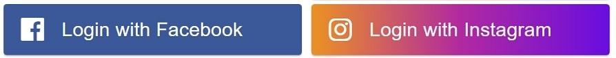 À quoi pourrait ressembler la fonctionnalité Instagram Login. Crédit : TechCrunch