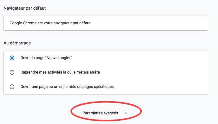 Comment désactiver les notifications sur Google Chrome partie 1