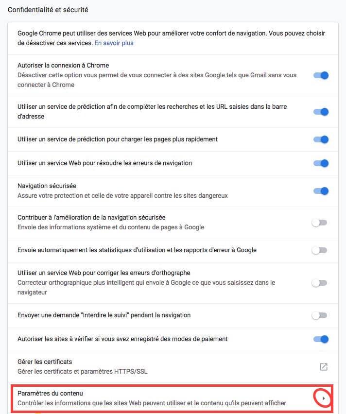 Comment désactiver les notifications sur Google Chrome partie 4