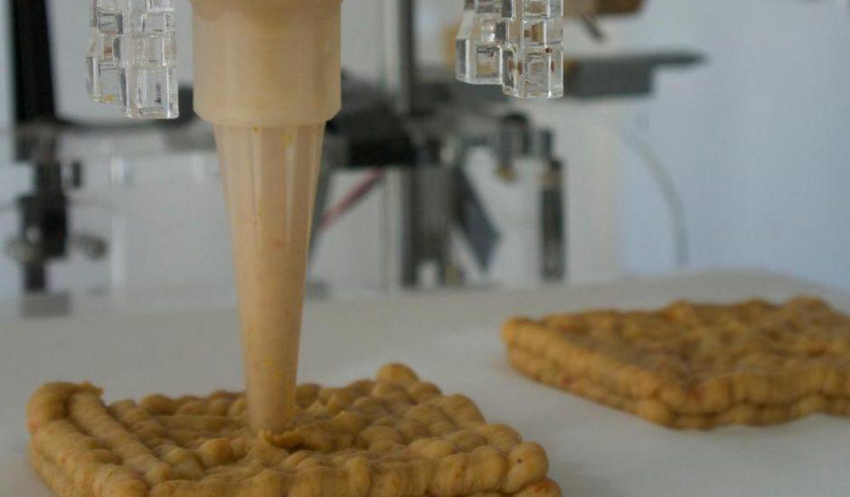 L'impression 3D pourrait mettre fin au gaspillage alimentaire