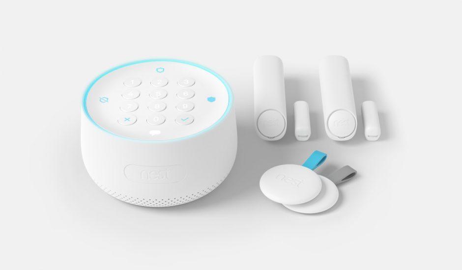 Les équipements de la gamme Nest Secure