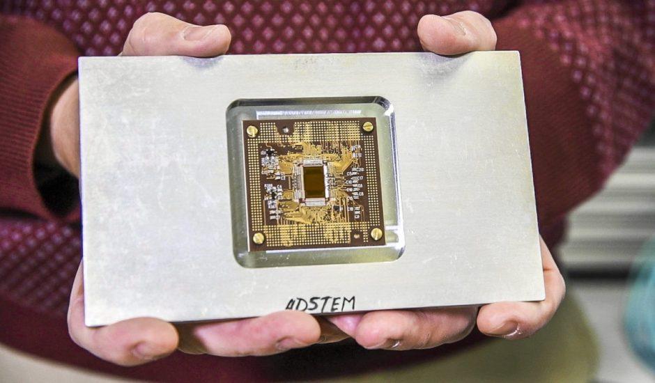 le capteur capable de capturer des images à l'échelle atomique