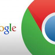 Les logos Google et Chrome sur un fond blanc.