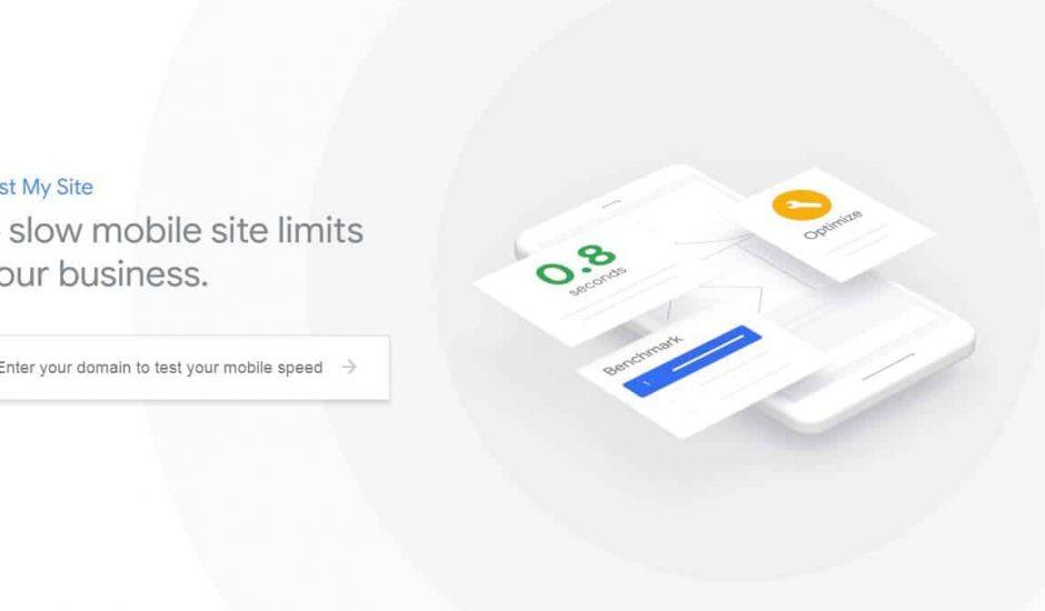 Test my site de Google : mesurez la vitesse de votre site sur mobile